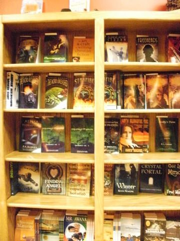 Our books are in The Written World, awesome store in Colorado Springs :)