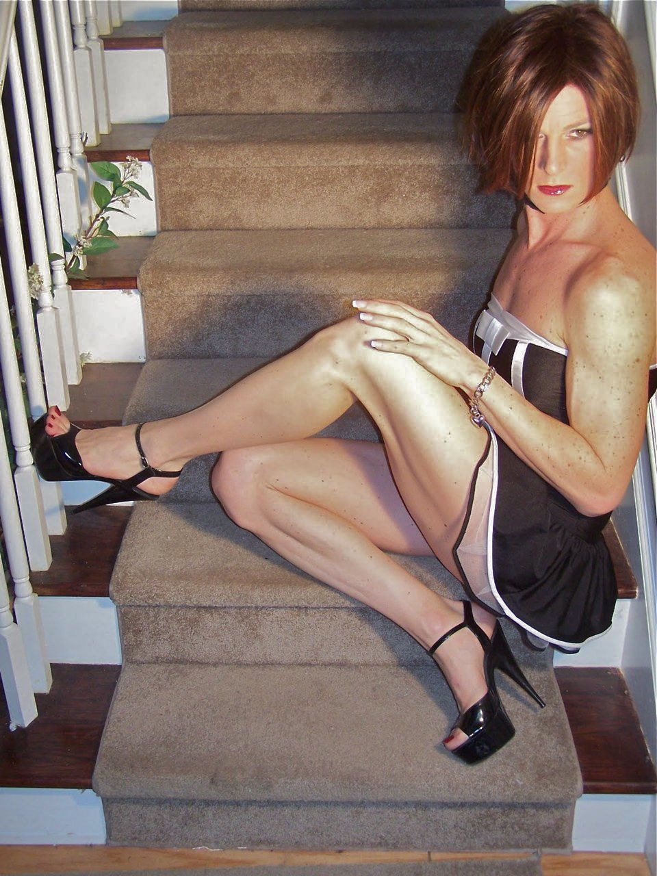 Tranny galleries pantyhose