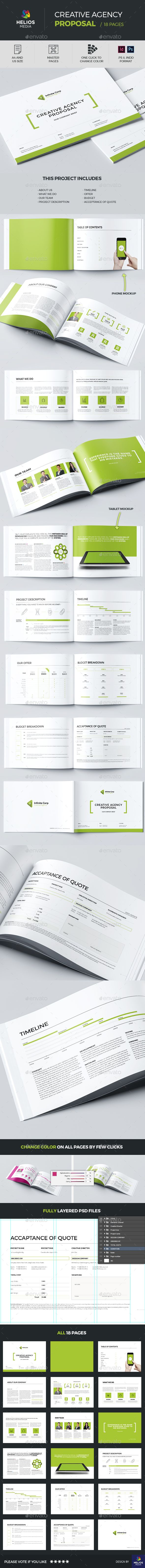 Proposal Template Horizontal by HELIOSMEDIA Live