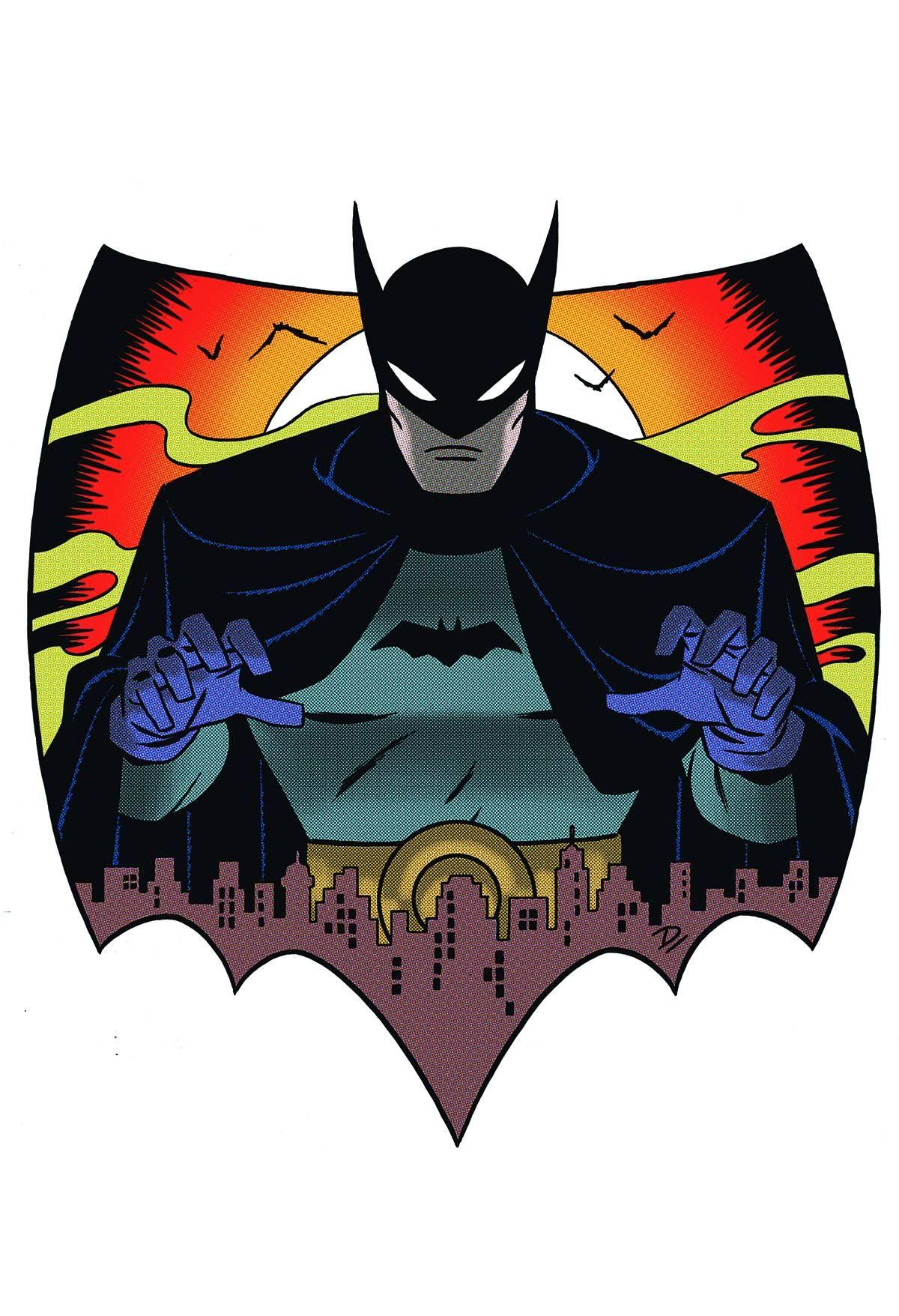 Almost Darwyn Cooke's Blog: Batman Omnibus cover