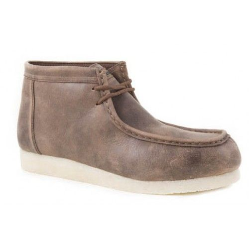 cc186af9557d Western Shoes · Brown ·  109.00 Roper Men s Casual Chukka Desert Sticker  Brown with Flat Gum Crepe Sole Foot