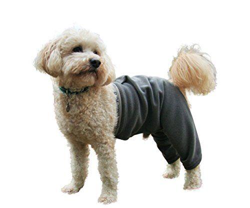 Mozzie Pants LFPTGREY Walking Fleece Dog Pants, Large * Click image for more details.