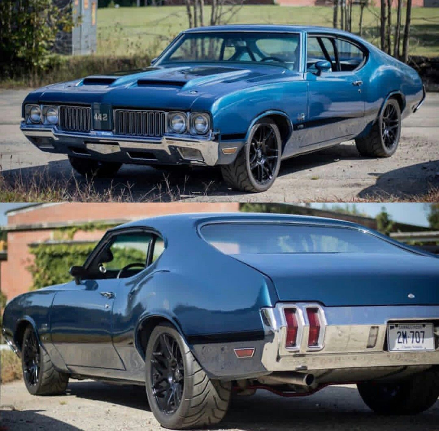 70 Oldsmobile 442 With Images Muscle Cars Oldsmobile 442