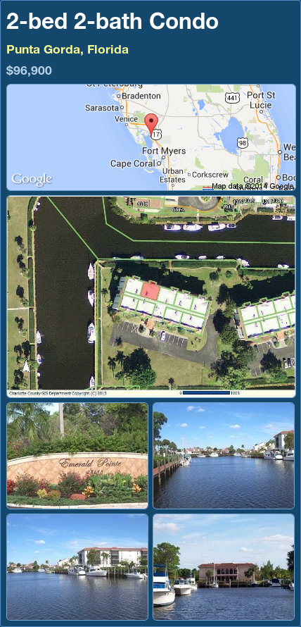 2-bed 2-bath Condo in Punta Gorda, Florida ►$96,900 #PropertyForSale #RealEstate #Florida http://florida-magic.com/properties/76761-condo-for-sale-in-punta-gorda-florida-with-2-bedroom-2-bathroom