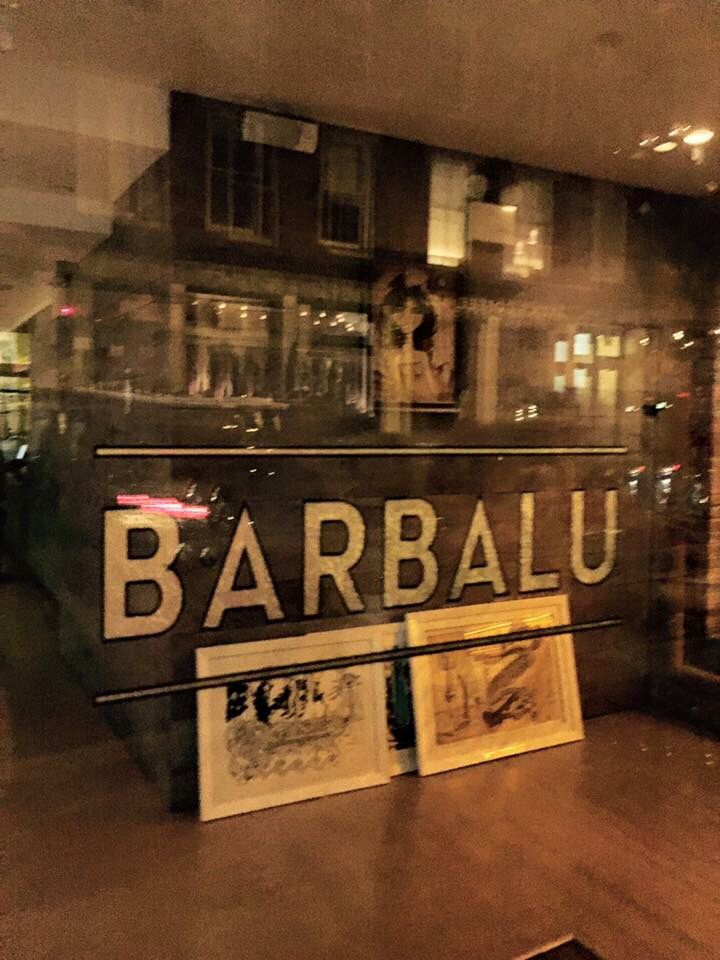 View From Outside Barbalu Italian Restaurant Financial District Seaport New York