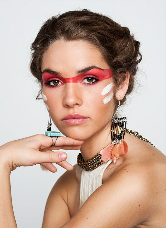 Ideas - Indian inspired face paint<< um no this is cultural