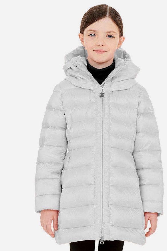 ADD Down Girls Down Coat with Hood from Mini Ruby | Kids Outerwear ...