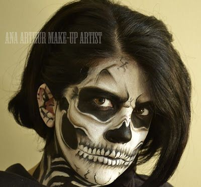 ana arthur make-up artist Halloween FX Makeup Pinterest - scary halloween ideas
