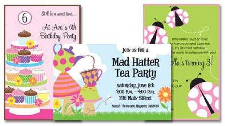 Rainbow Birthday Invitation Quotes For Baby Girl