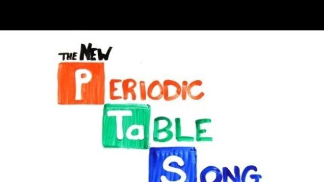 Learn the Periodic Table of Elements with this handy song Periodic - new periodic table image