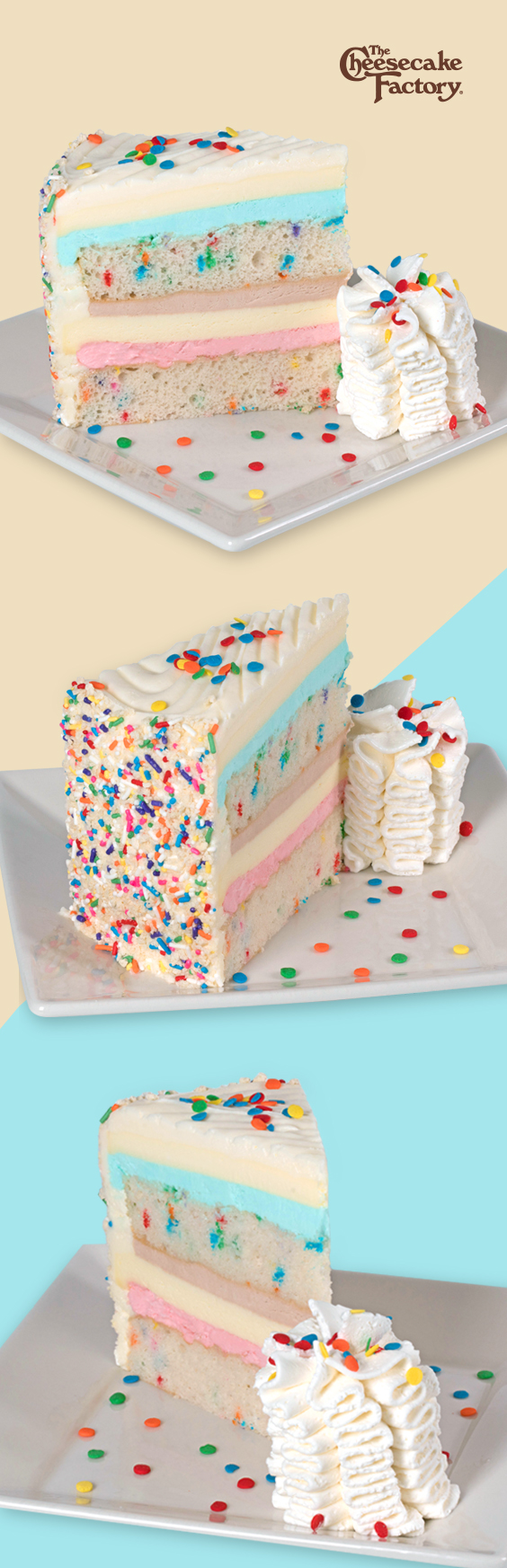Sensational The New Celebration Cheesecake Layers Of Vanilla Cake Cheesecake Funny Birthday Cards Online Barepcheapnameinfo