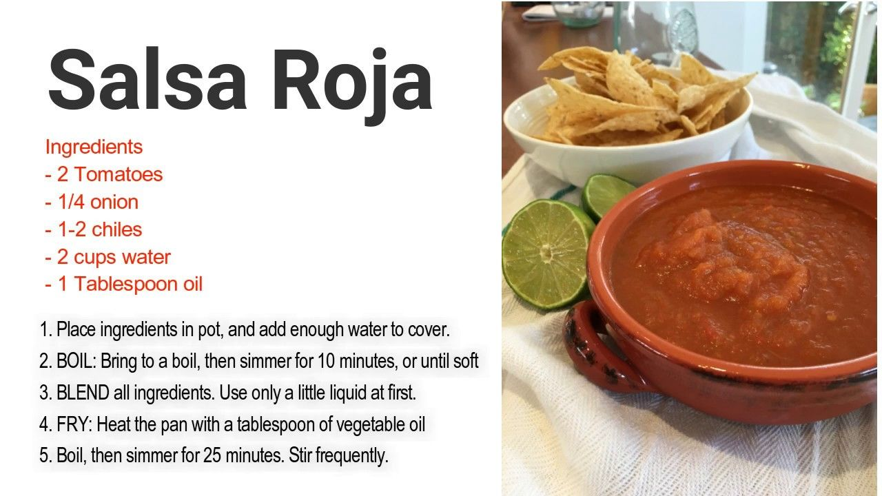 Esl food video how to make salsa roja healthy tasty recipes esl food video how to make salsa roja forumfinder Image collections