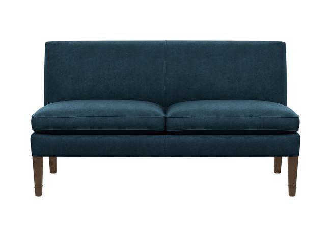 Baldwin Armless Settee In 2019 Seating Settee Sofa Settee