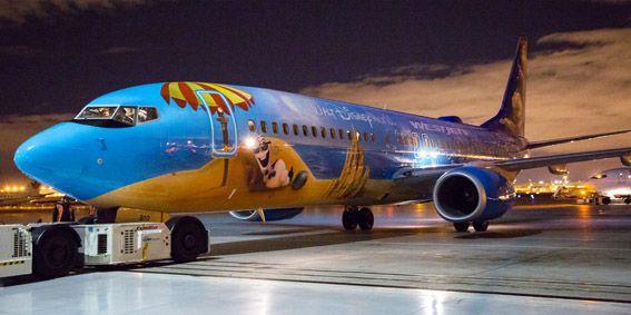 Avião da Frozen