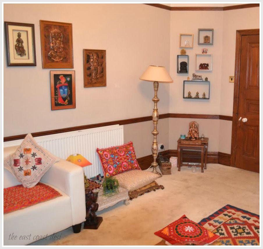 the east coast desi india inspired home tour decor love