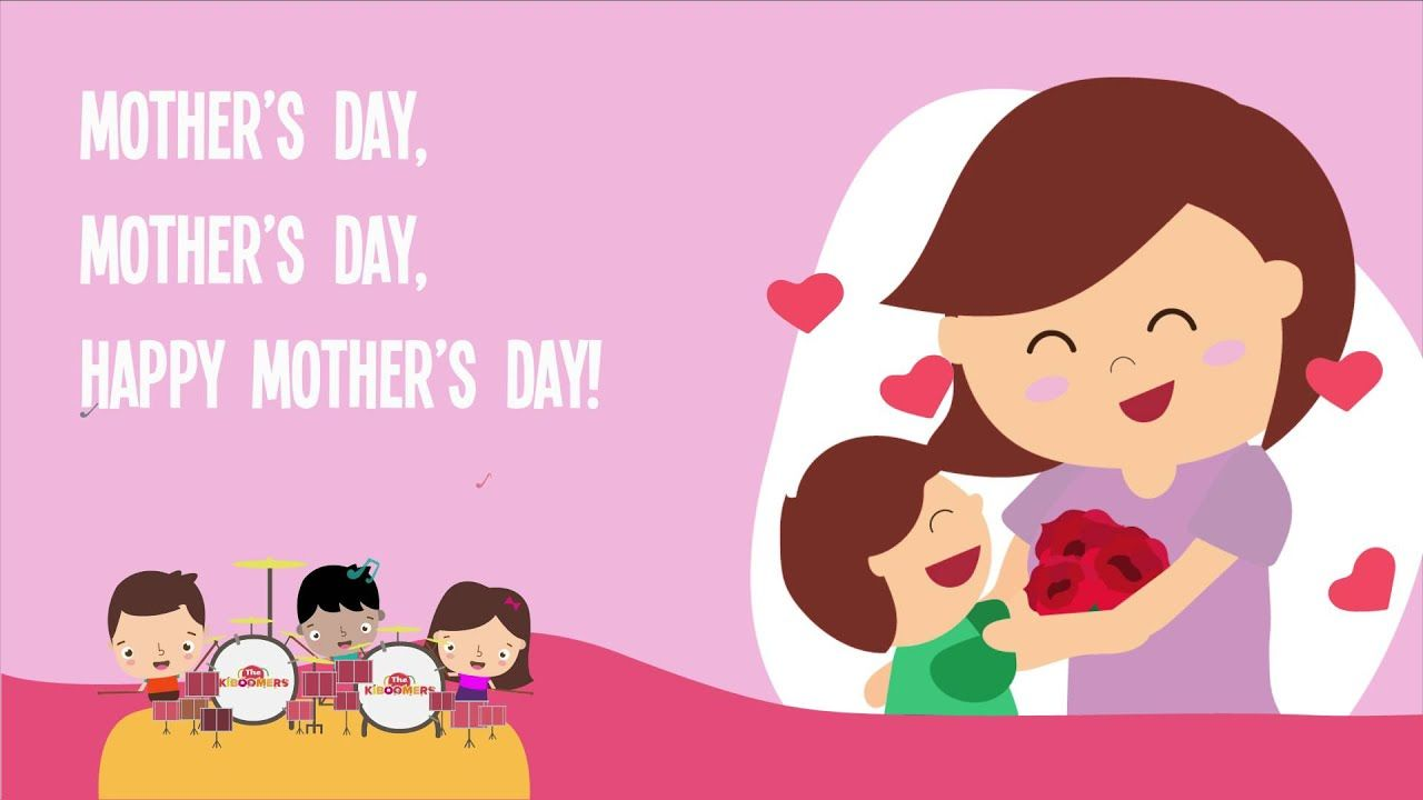 Happy Mother S Day Kids Song Song Lyrics Video The Kiboomers Youtube Happy Mothers Day Song Mothers Day Songs Mother Day Wishes