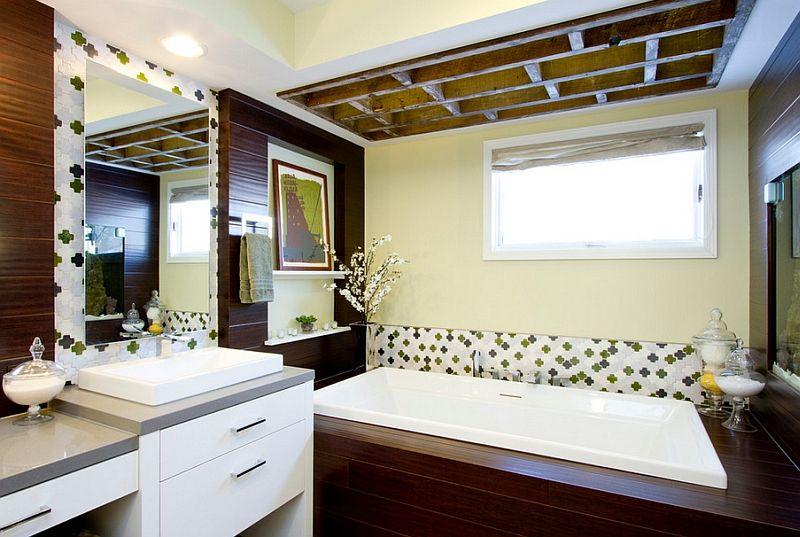 Bathroom Stylish Wall Tile Also Drop In Bathtub Design Feat Magnificent Moroccan Tile Bathroom Design Design Inspiration