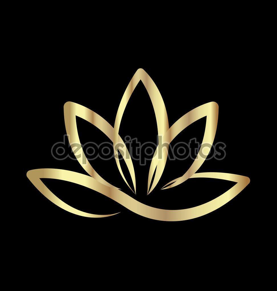 Gold lotus flower logo stock illustration 113817438 lotus logo gold lotus flower logo stock illustration 113817438 izmirmasajfo