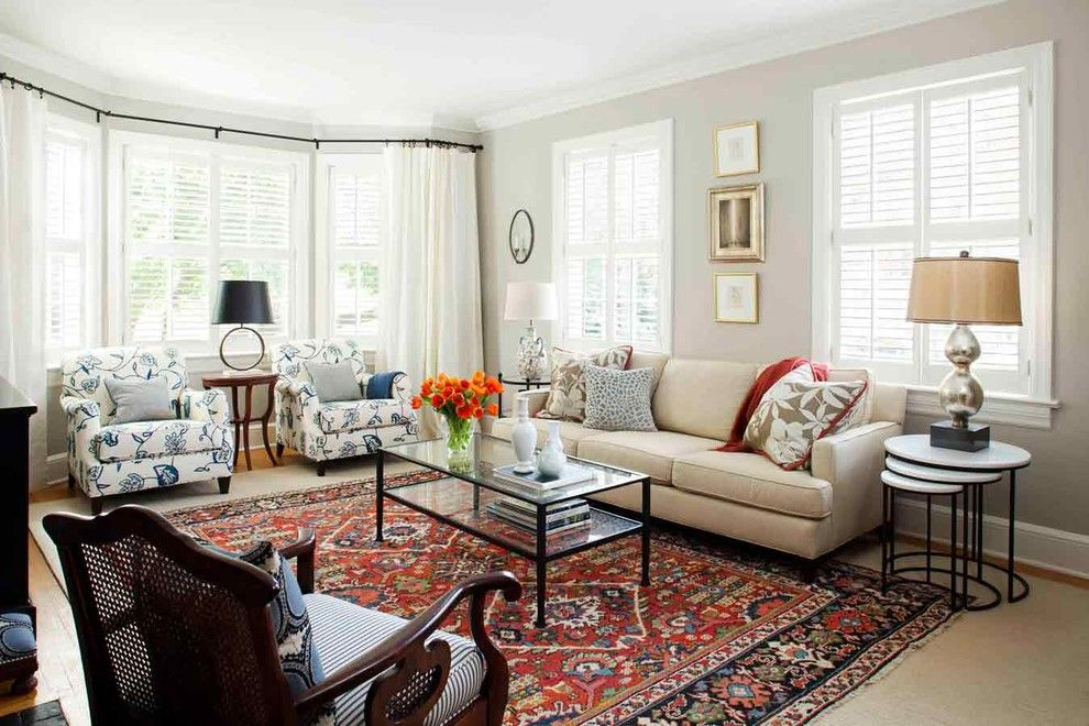 31 Elegant Traditional Living Room Designs For Everyday Enjoyment |  Transitional Living Rooms, Oriental Rug And Oriental