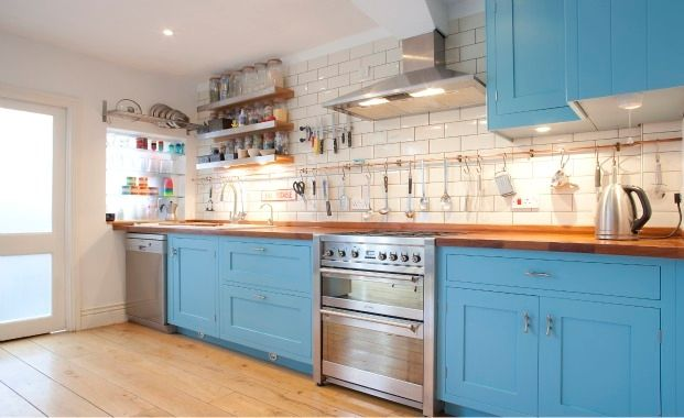 lovehome.co.uk: Bold kitchen colour schemes | Bold kitchen ...