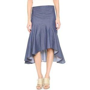 Timo Weiland Avril Asymmetric Hem Skirt