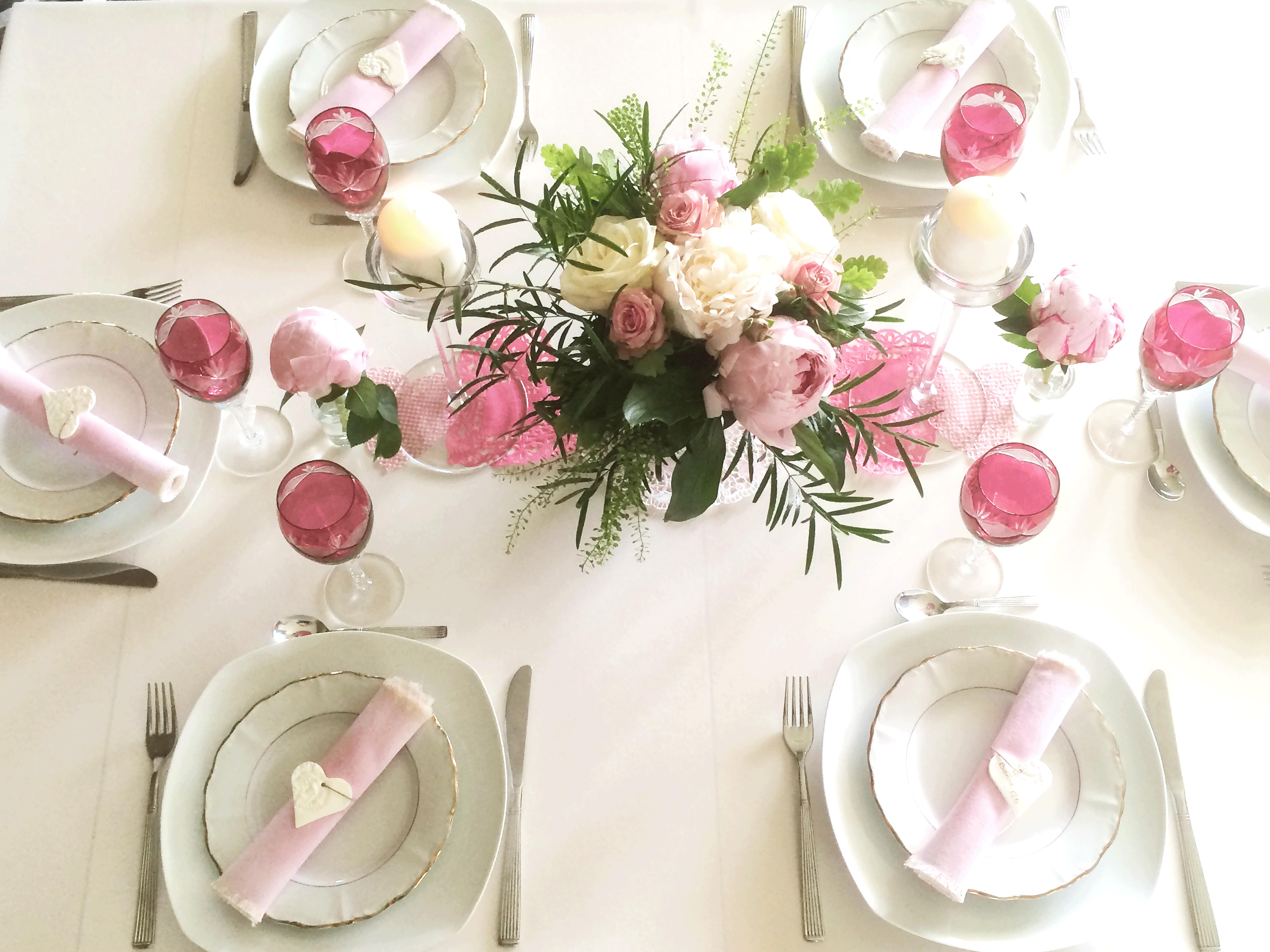 Déco table de #fête des mères pour une \