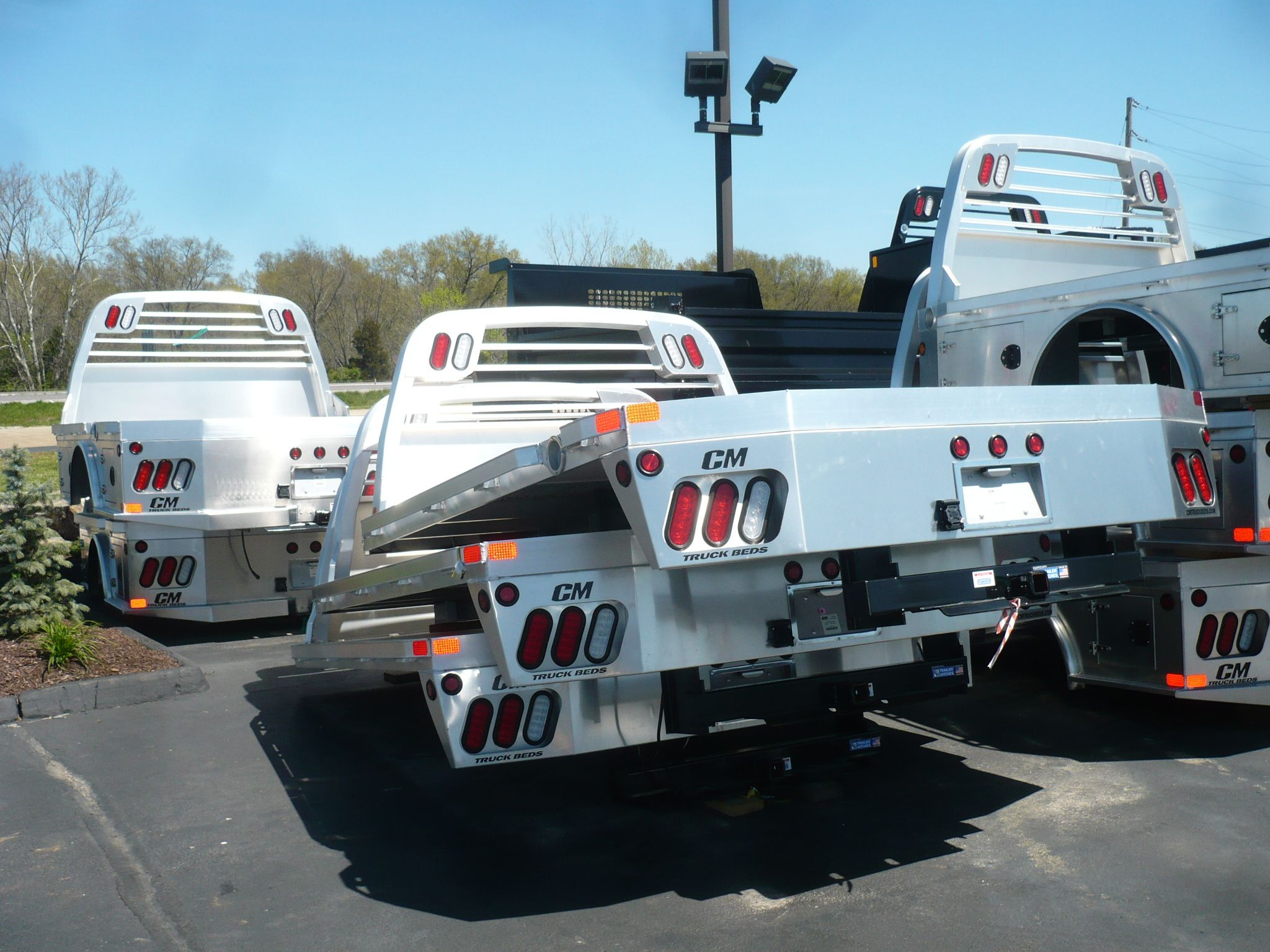 shiny new aluminum truck bedsin stock!Midwest Motors