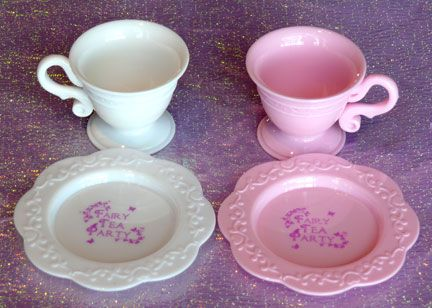Our Fairy Tea Party Plastic Teacups and Saucers come in adorable ...