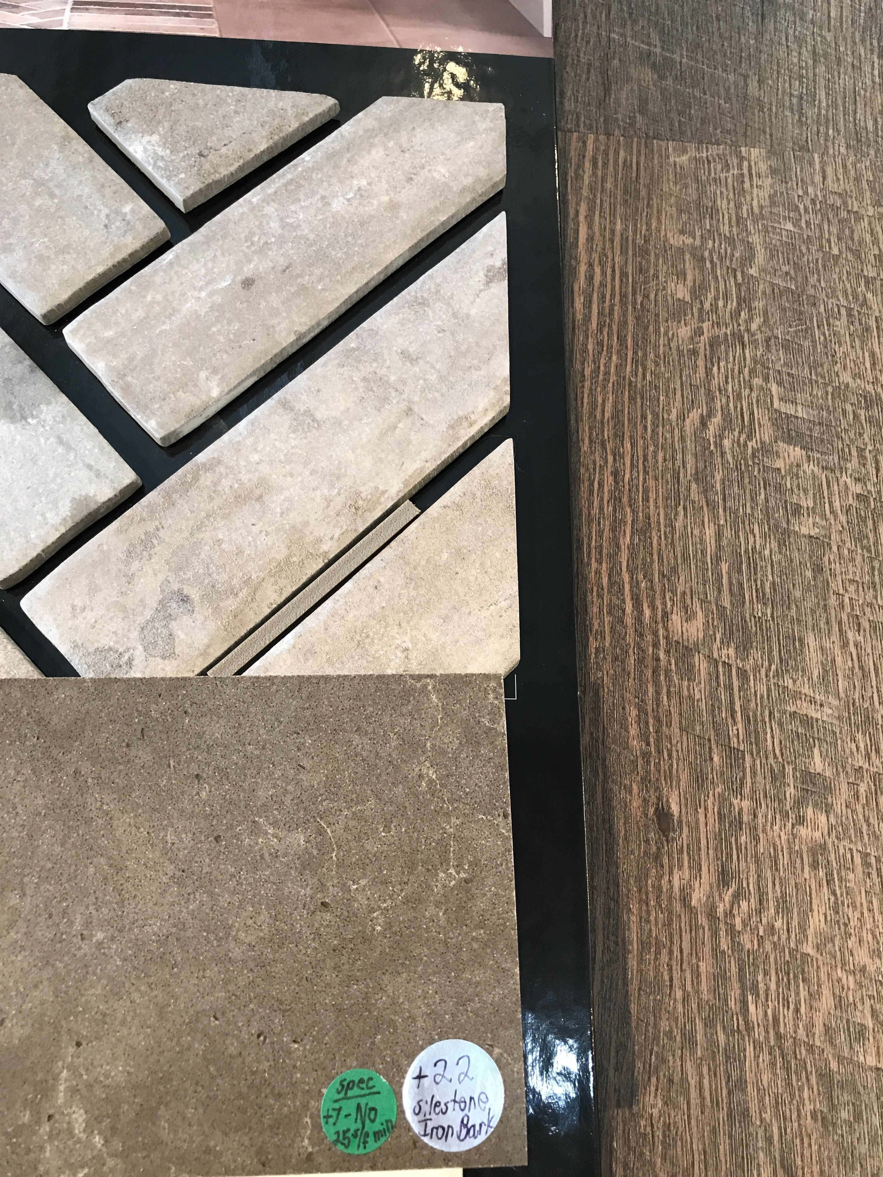 Backsplash, Counter, & Flooring Backsplash, Flooring
