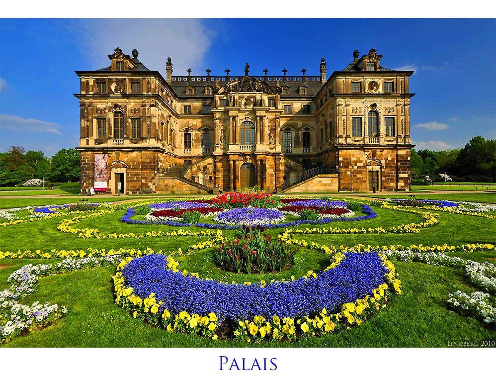 Das Palais Im Grossen Garten Dresden Von Martin Lindberg Via Fotocommunity De Fotografia De M Garten Ideen Zeitgenossische Gartengestaltung Mosaiktisch Garten