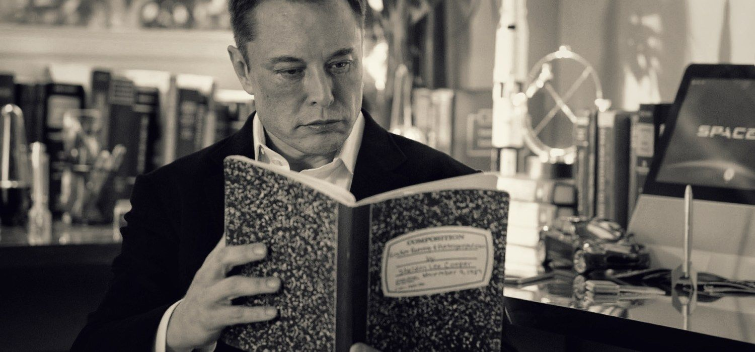 Elon Musk's Favorite Books that Shaped His Future in 2020