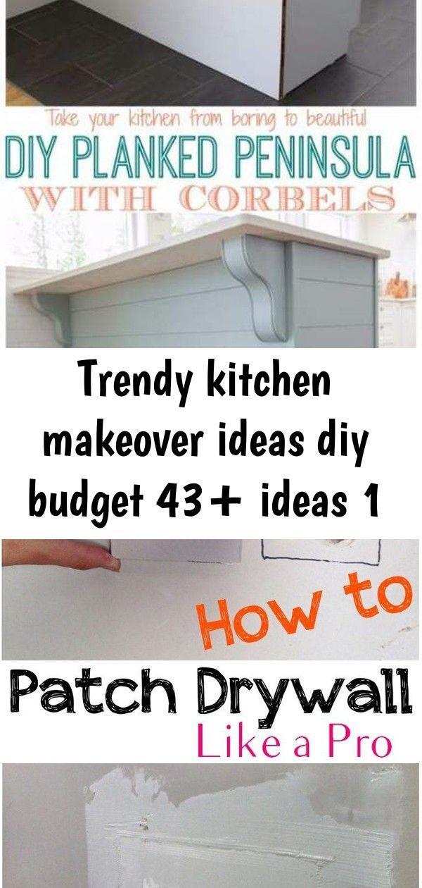 Trendy kitchen makeover ideas diy budget 43+ ideas 1