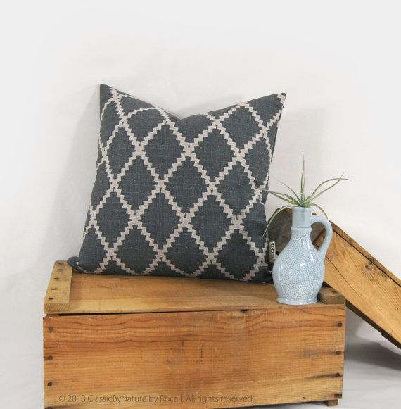 Image result for dark gray throw pillows Where we hang out