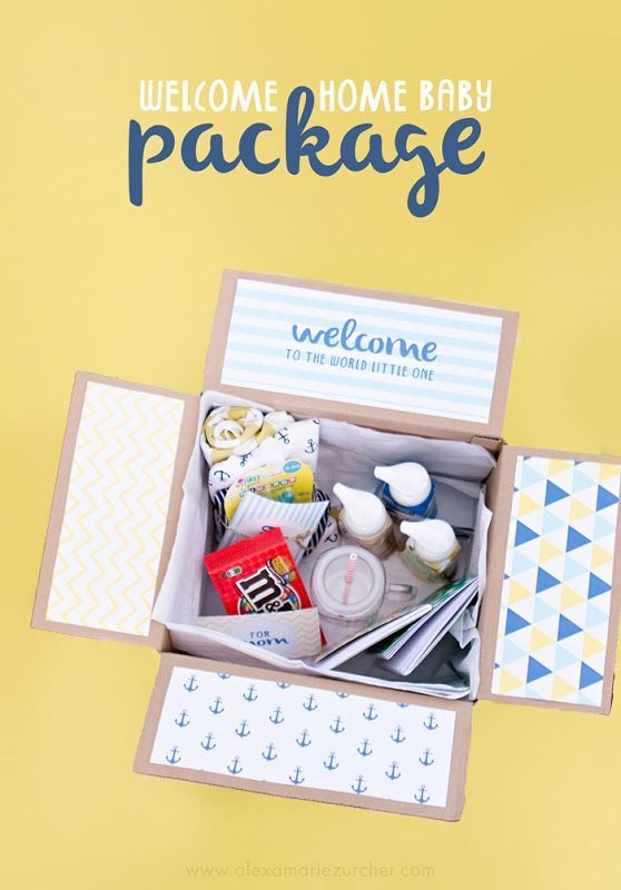 Welcome Home Baby Package And Free Printables Baby Shower Ideas