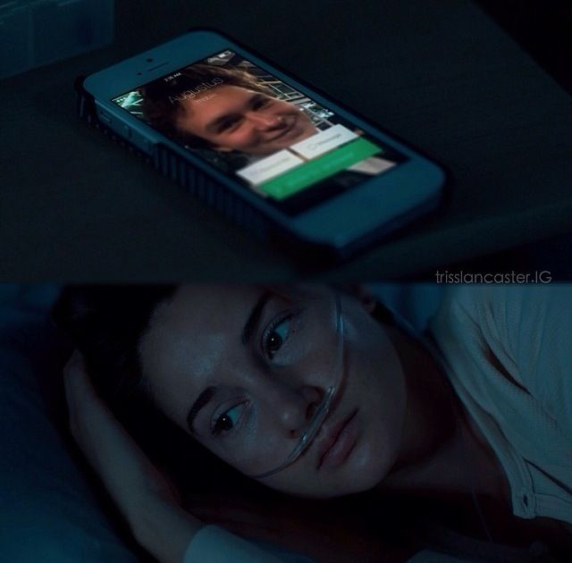 Fotky Hazel E Gus A Culpa: MOTHER, Gus DIED! HE CAN NOT DIE! WHY HE DIED? WHY HE DID