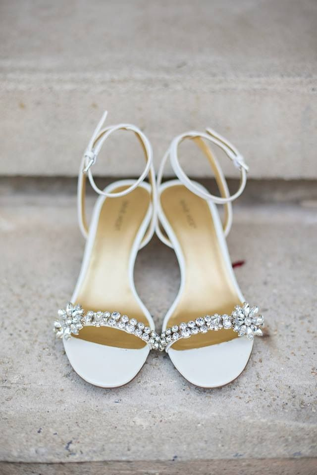 Wedding shoes - simple and pretty