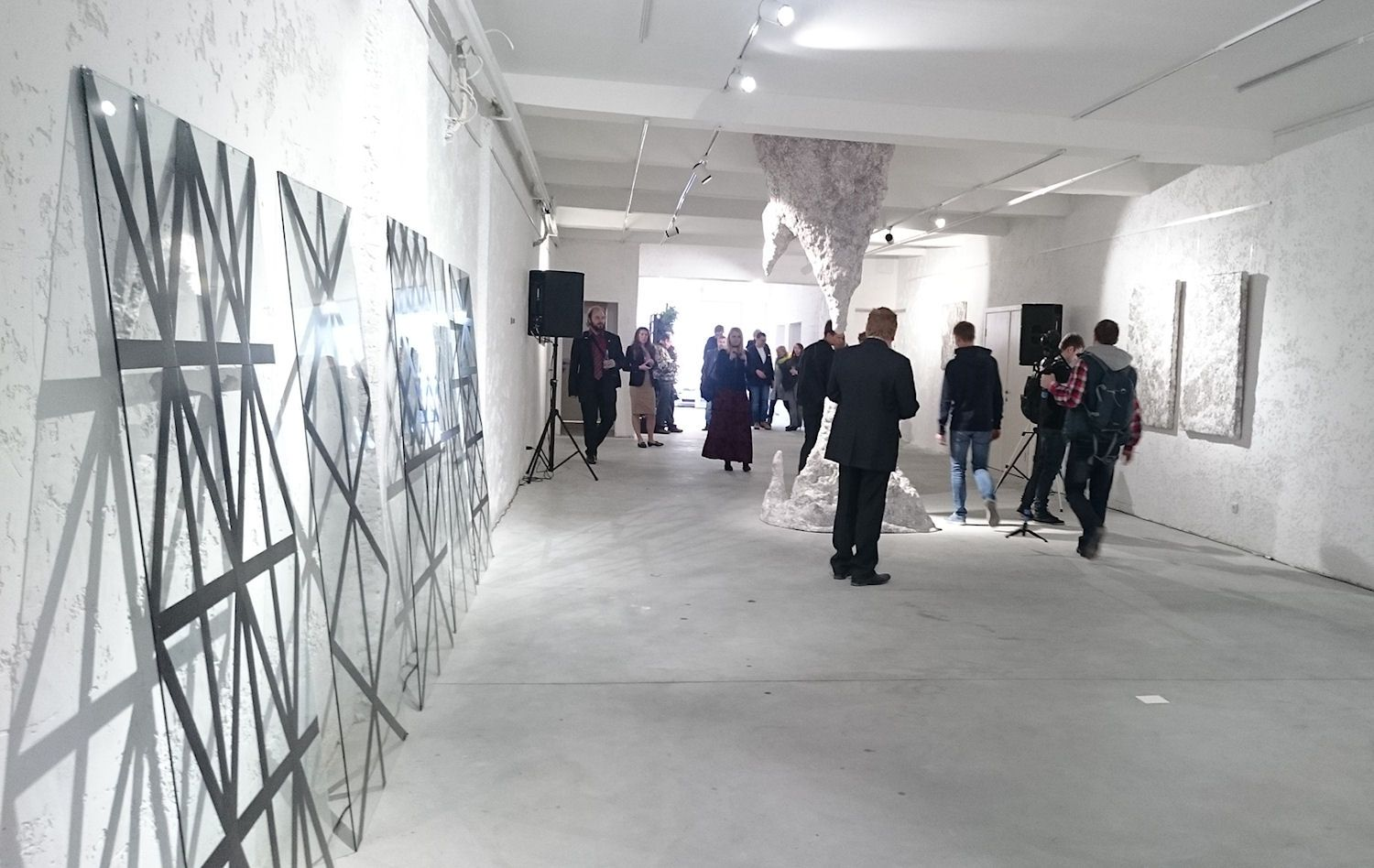 U.A.F. Gallery: a white space ready for various transformations. Besides artist exhibitions, film screenings, poetry readings and other cultural events are planned here #interdema #art #artspace #artgallery #арт