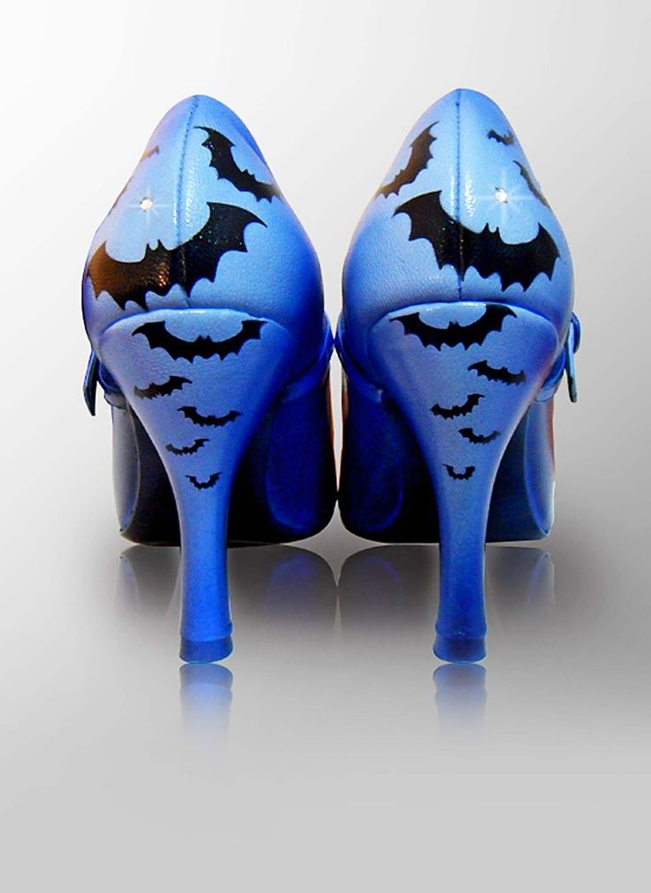 Love The Blue Bats Heels Y Inspiration Spylove