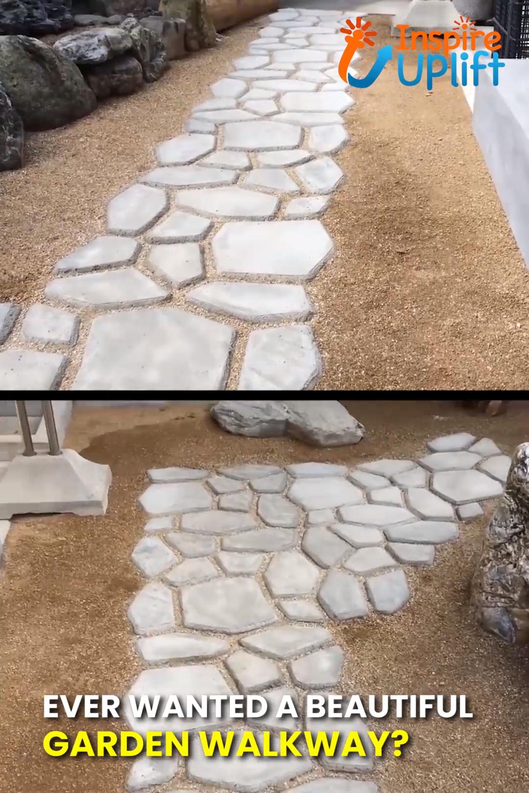 Photo of Garden Path Maker Mold Mold