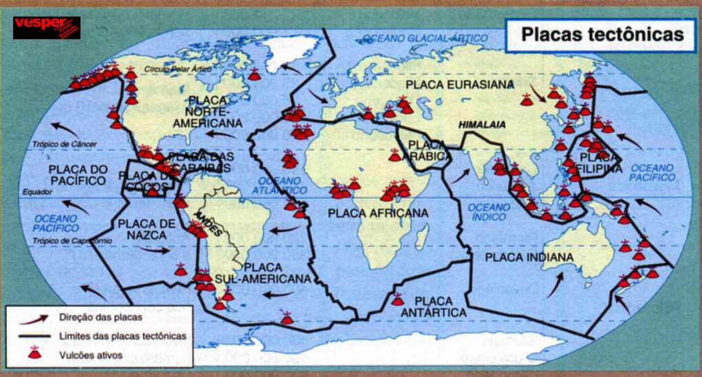 placas tectnicas  Ilustraciones  Pinterest  Geografa