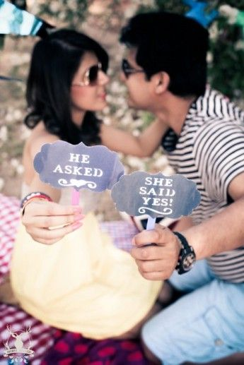 A Pre Wedding Shoot Full Of Adorable Details