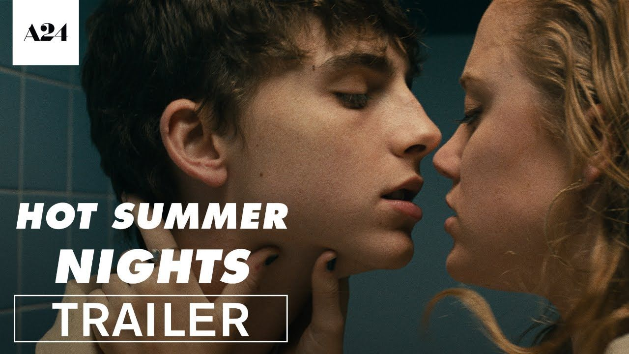 HOT SUMMER NIGHTS starring Timothée Chalamet, Maika Monroe