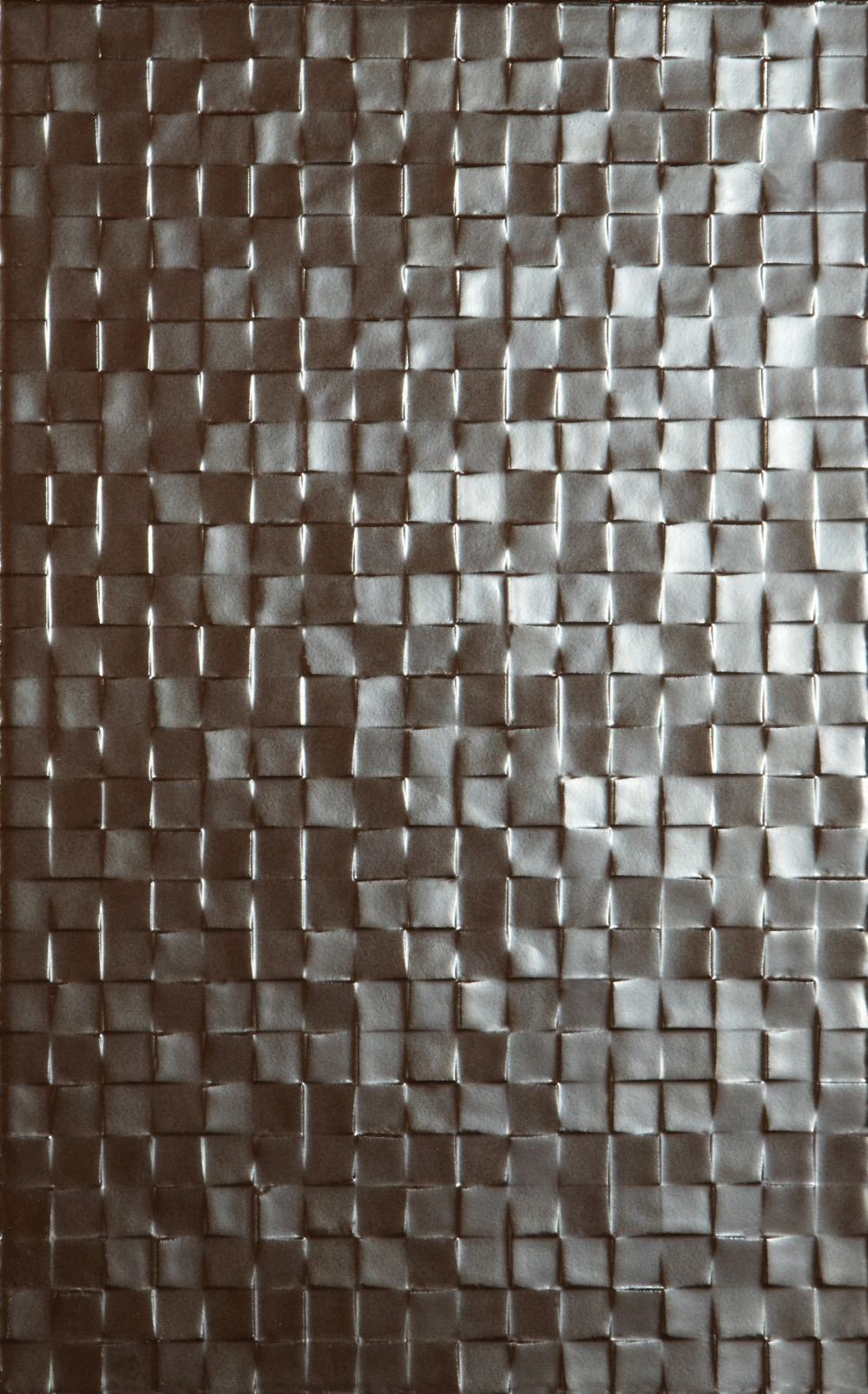 metallic mosaic effect wall tile hartland (tactile studio conran