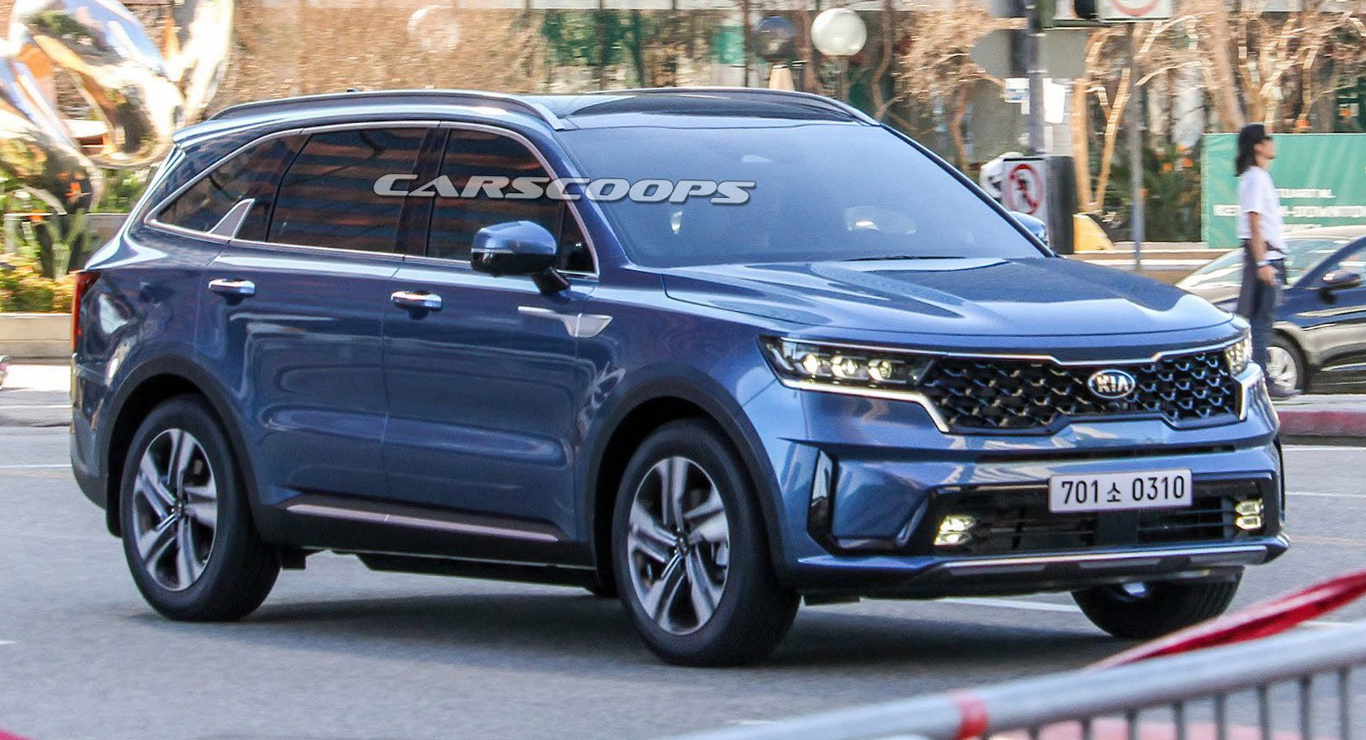 2021 Kia Sorento This Is It Photographed Completely Uncovered