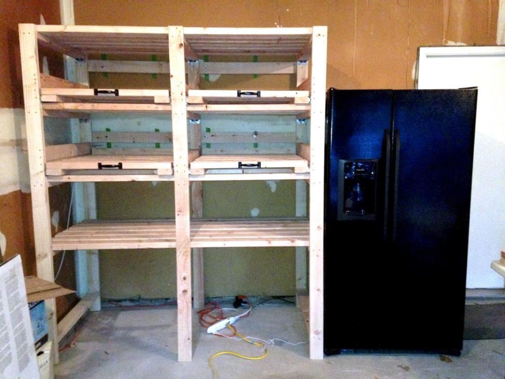 Sliding Storage Shelves Garage Storage Shelves Diy Garage Storage Shelves
