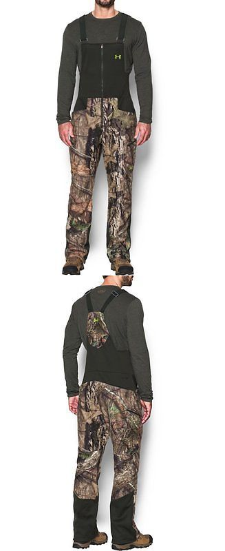 under armour upland pants. pants and bibs 177873: under armour men s ua stealth fleece bib - mossy oak upland a