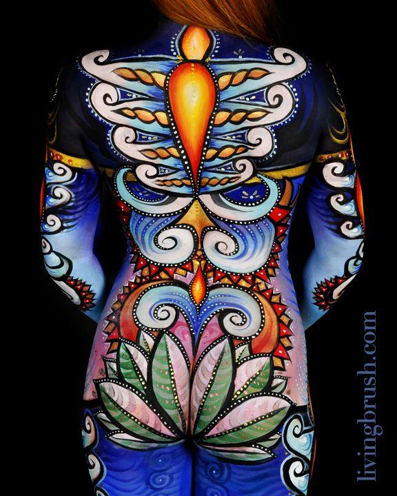 Scott Fray - Living Brush Bodypainting I Love Body Art Body