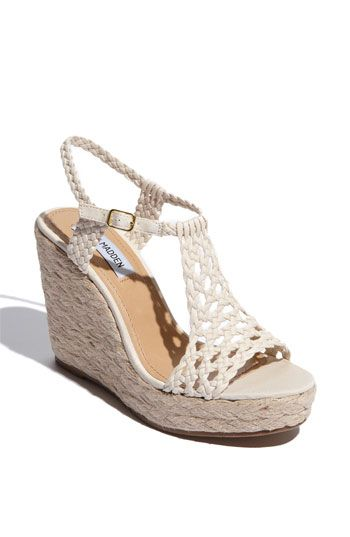 Loving the design on the top of the foot!  This is great for capri's, a maxi skirt, shorts or by the pool!