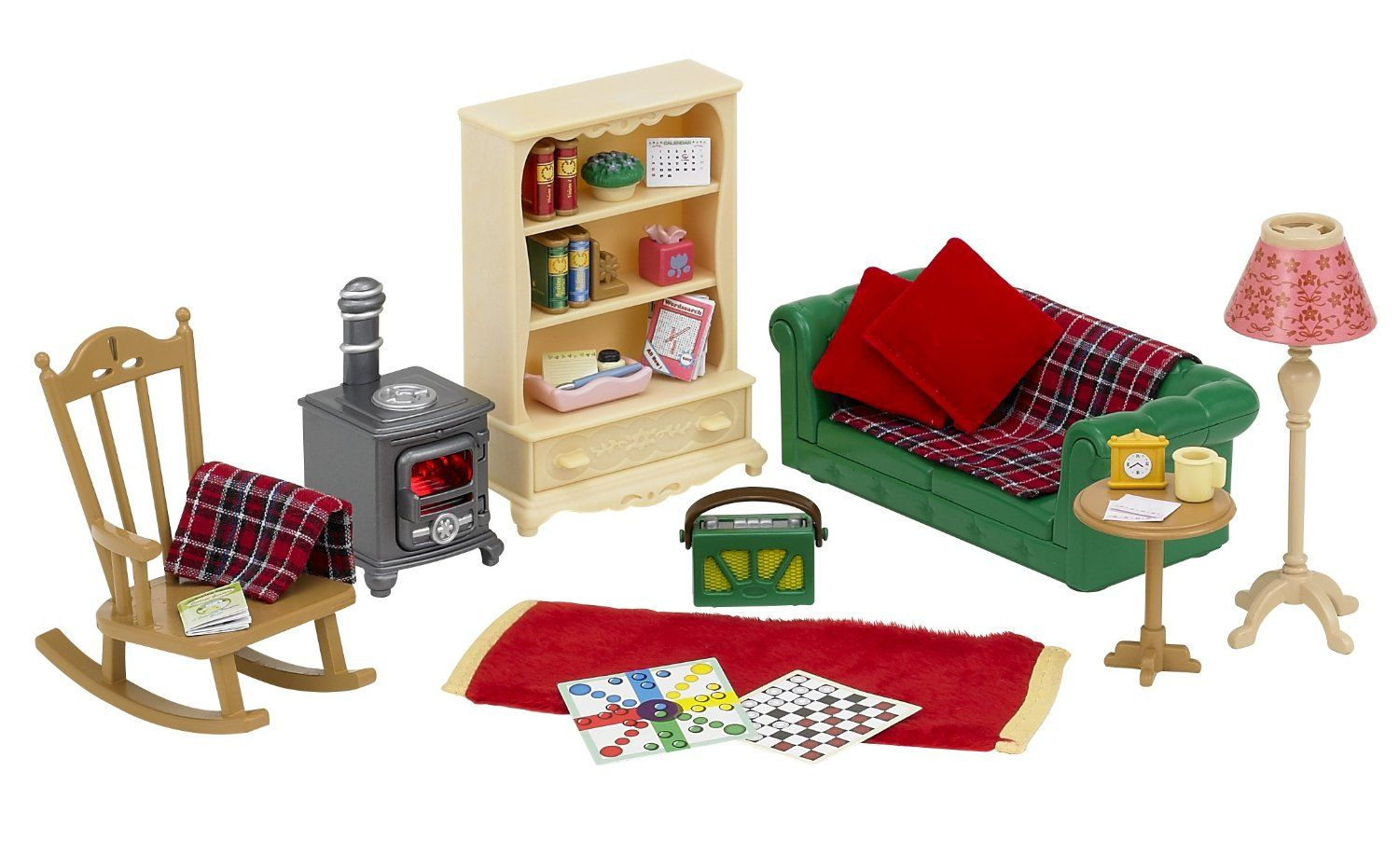 Sylvanian Families Cosy Living Room Set Amazon Co Uk Toys Games Cosy Living Room Sylvanian Families Calico Critters Families