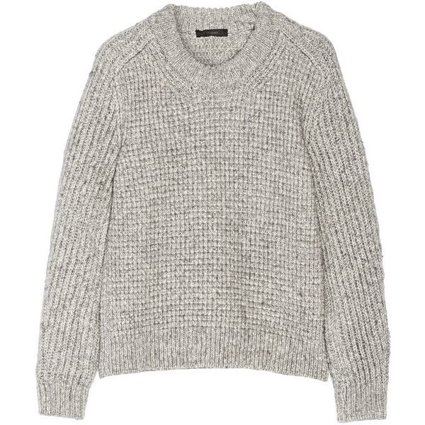7d8ddd06a Belstaff Rorrington cotton and wool-blend sweater ( 278) ❤ liked on ...